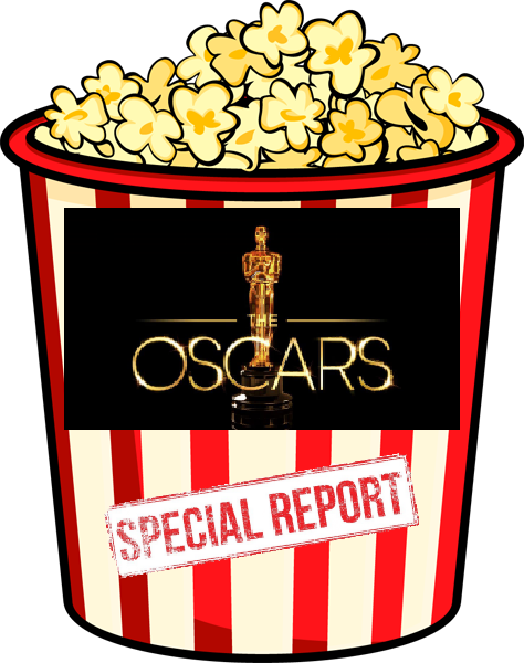 Oscars Logo on popcorn bucket