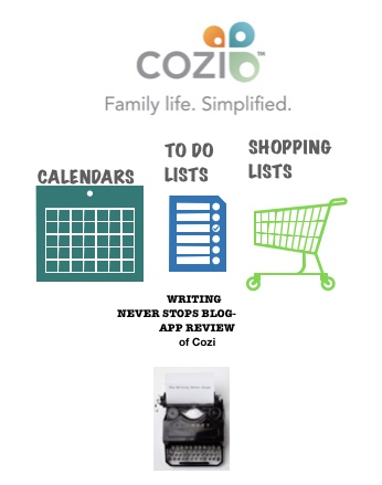 Pop Culture Rec- Cozi- The Family Organizer: An App